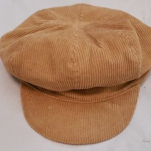 GAP CURDORY TAN NEWSBOY CAP M/L